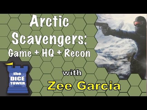 Arctic Scavengers - A Dice Tower Review with Zee Garcia