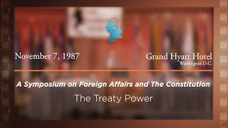 Click to play: Panel III: The Treaty Power [Archive Collection]