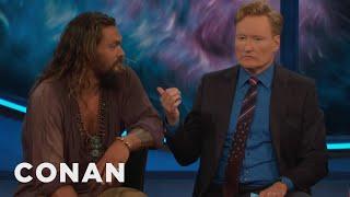 Conan Drinks A Pint With Jason Momoa & The Cast Of Aquaman  - CONAN On TBS