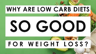 Why Do Low Carb Diets Work For Weight Loss? Here are 4 reasons!