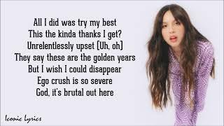 Brutal - Olivia Rodrigo (Lyrics)