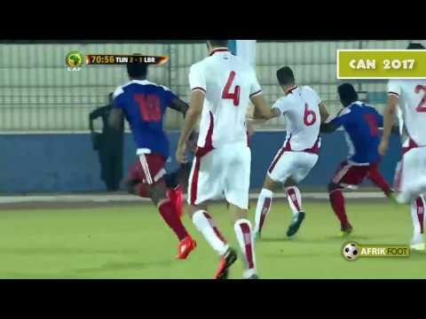 Tunez 4 vs 1 Liberia | Clasificacon Copa AFRICANA
