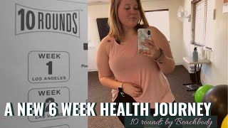Starting My Health Journey Again // Beachbody 10 ROUNDS Challenge Pack Unboxing And Haul