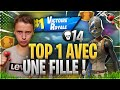TOP 1 14 KILLS EN ARÈNE AVEC UNE JOUEUSE IMPRESSIONNANTE