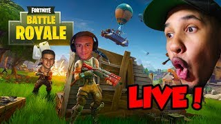 FORTNITE BATTLE ROYAL LIVE STREAM WITH FRIENDS