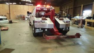 Feniex Wrecker Install by EFS Houston Emergency Fleet Service