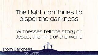 We are witnesses Pt1 – Luke 24:13-35, 24:46-53