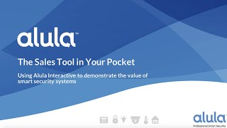 Alula Interactive Demo Mode Webinar