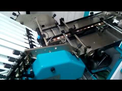 Air Feed Paper Folding Machine