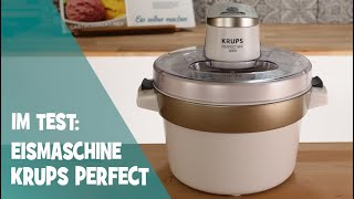 Krups Venice Perfekt Mix 9000 Eismaschinen Test