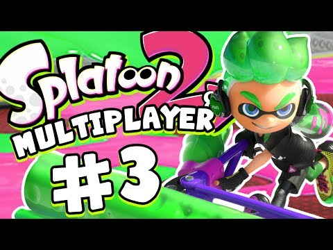 Splatoon 2 Multiplayer - NOTHING BUT ROLLERS!!