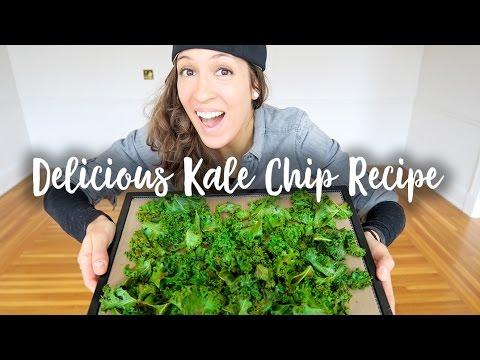 Video Delicious Kale Chip Recipe!