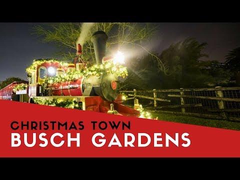 Christmas Town do Busch Gardens Tampa