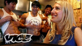 Eating at a Hooters for Women in Japan: Slutever Shorties