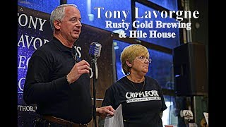 Tony Lavorgne at Rusty Gold Brewing & Hile House