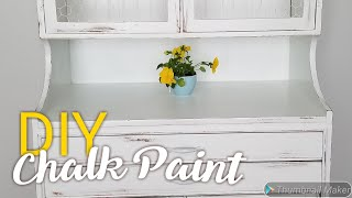 DIY Chalk Paint: How I Make My Own Chalk Paint