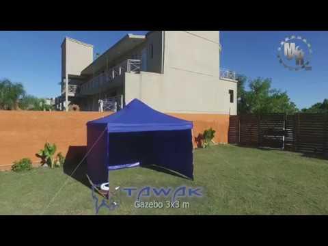 Gazebo Plegable Tawak Force 3x3 m
