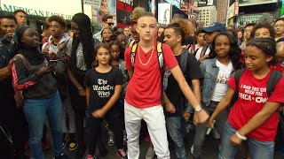 'Backpack Kid' Teaches Fans How To Do His Signature Move - Video Youtube