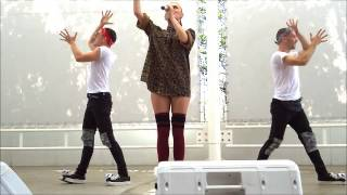 "Alexandra Stan ""Cherry Pop"" at Makuhari 28/09/14"