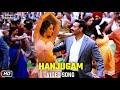 Hanjugam Video Song   Bhuj The Pride of India   Ajay Devgn   Nora Fatehi   Sonakshi Sinha