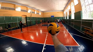 Волейбол от первого лица | VOLLEYBALL FIRST PERSON | FPV | 127 эпизод