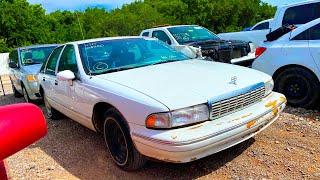 Copart Walk Around 7-4-2020 + Cheap Classic Chevy Caprice