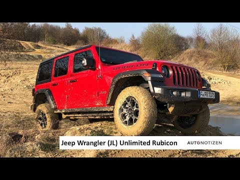 Jeep Wrangler JL Unlimited Rubicon 2019 Offroad- und Onroad-Test, Review
