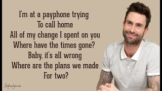 Payphone   Maroon 5 Ft. Wiz Khalifa (Lyrics) 🎵