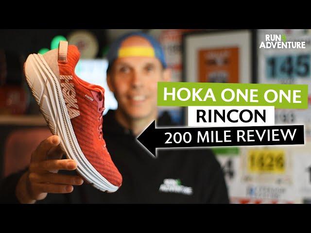 HOKA ONE ONE RINCON 200 mile shoe review   Run4Adventure