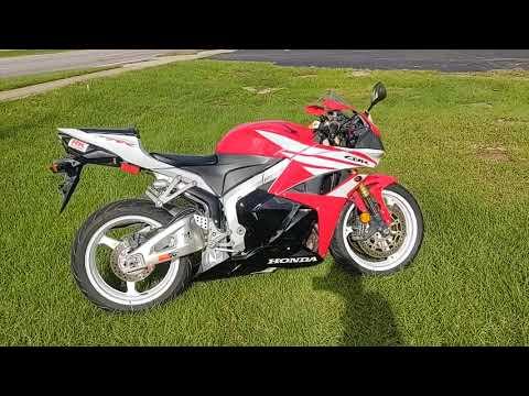 2012 Honda CBR®600RR in Pensacola, Florida - Video 1