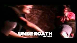 UNDEROATH Full Set - Live at Ace's Basement (Multi Camera) April 2004