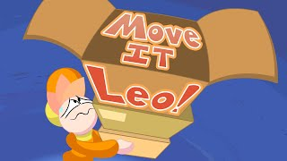 Move IT Leo! - Animated Cartoon by Kryssen Robinson(SUBBED)