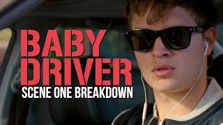 How Edgar Wright Sets Up Baby Driver - First Scene Breakdown - Video Youtube