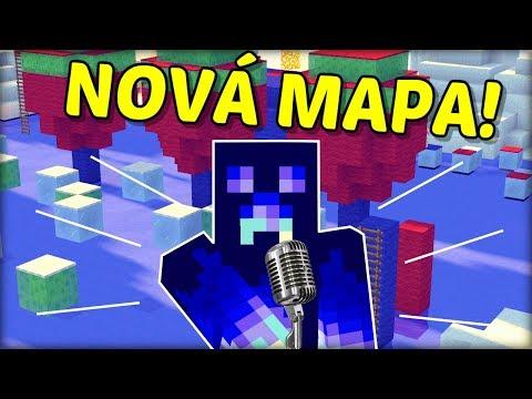 NOVÁ ZIMNÍ MAPA! - ULTIMÁTNÍ WIPEOUT v Minecraftu !