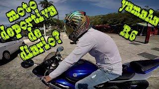 Moto Deportiva Para Uso Diario, Yamaha R6