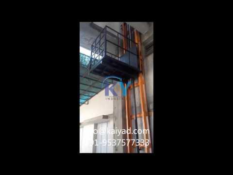 Hydraulic Stacker Goods Lift
