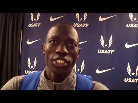 Lopez Lomong is back, baby! Wins 2018 USA title in the 10,000m