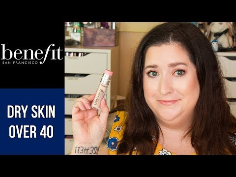 BENEFIT BOI-ING CAKELESS CONCEALER | Dry Skin Review & Wear Test