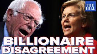 Warren Disagrees With Bernie On Whether Billionaires Should Exist