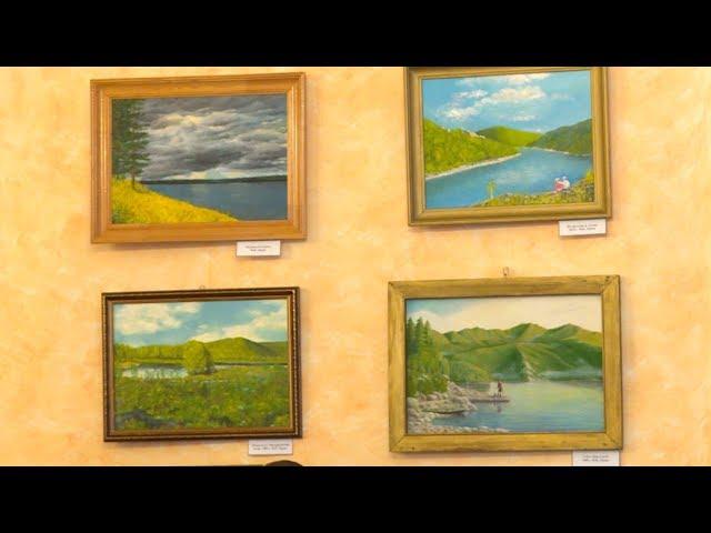 Выставка 95-летнего художника