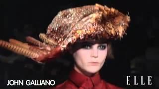 John Galliano. Paris Fashion Week Otoño - Invierno 2012-2013 | Elle España