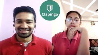 Clapingo English Conversation    English Speaking Practice with Online Indian Tutors