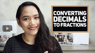 Converting Decimals To Fractions - Math FUNdamentals - Civil Service & #UPCAT Review