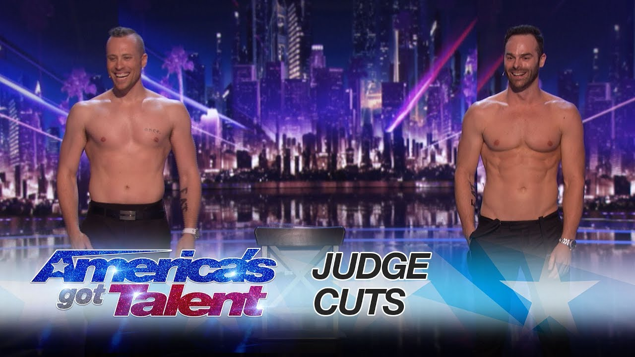 The Naked Magicians: Magician Duo Strips Down In Magic Show - America's Got Talent 2017 thumbnail