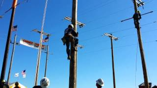 2013 International Lineman's Rodeo IBEW Local 53 Dead End Insulator Changeout