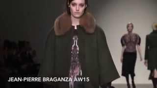 Jean Pierre Braganza AW15 at London Fashion Week