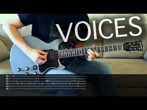 Voices - Alice in Chains | Vocal + Guitar Cover | Solo + Tabs