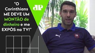"""""""Eu errei ao escolher o Corinthians, me deve um monte"""", afirma Boselli"""