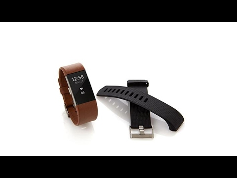 Fitbit Charge 2 Fitness Tracker w/Classic+Leather Bands