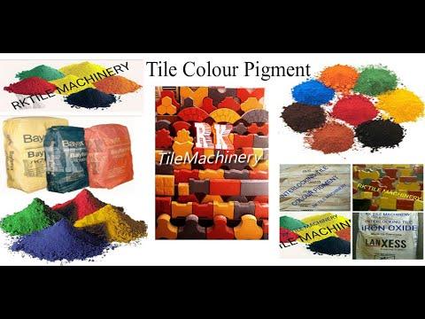 Paver Block Color Pigment